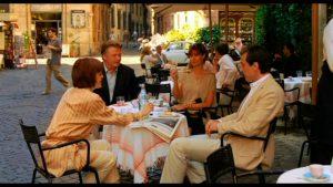 Escena de la película «A Roma con amor»