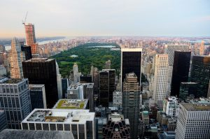 Vistas a Central Park desde Top of the Rock