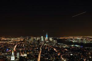 Vistas hacia Sur de Manhattan desde Empire State