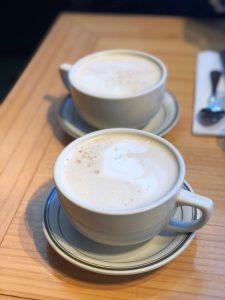 Café con leche tamaño XXL