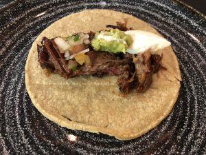 Taco de brisket