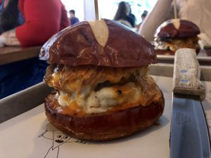 Five Napkin Burger. 630 9th Ave.